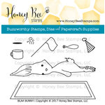 Honey Bee Stamps - Clear Acrylic Stamps - Blah Bunny
