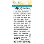 Honey Bee Stamps - Clear Acrylic Stamps - Blah Blah Blah