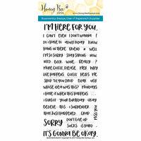 Honey Bee Stamps - Clear Photopolymer Stamps - Blah Blah Blah