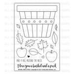 Honey Bee Stamps - Clear Acrylic Stamps - Bushel And A Peck