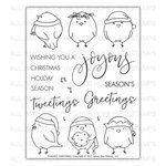 Honey Bee Stamps - Christmas - Clear Acrylic Stamps - Seasons Tweetings