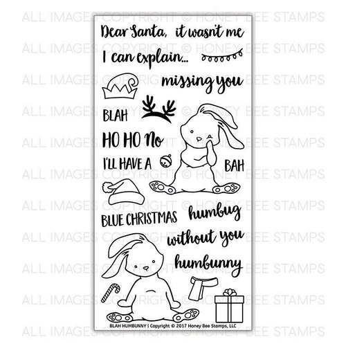 Honey Bee Stamps - Christmas - Clear Acrylic Stamps - Blah Humbunny