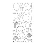 Honey Bee Stamps - Clear Acrylic Stamps - Penny The Platypus