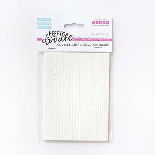 Heffy Doodle - Foam Strips - Double Sided - 3mm Deep