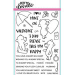 Heffy Doodle - Clear Acrylic Stamps - Beary Big Heart