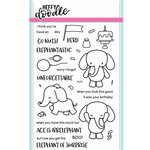 Heffy Doodle - Clear Acrylic Stamps - Elephant of Surprise