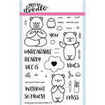 Heffy Doodle - Clear Acrylic Stamps - Unbearable Without You