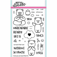 Heffy Doodle - Clear Photopolymer Stamps - Unbearable Without You