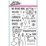 Heffy Doodle - Clear Acrylic Stamps - Ad-roar-able Lions