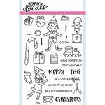 Heffy Doodle - Christmas - Clear Acrylic Stamps - Elfish Antics