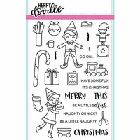Heffy Doodle - Christmas - Clear Photopolymer Stamps - Elfish Antics