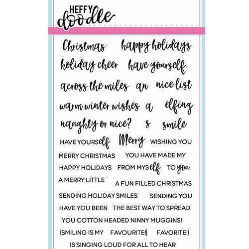 Heffy Doodle - Elfing Christmas Words