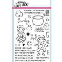 Heffy Doodle - Clear Photopolymer Stamps - Lucky Friends
