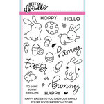 Heffy Doodle - Clear Acrylic Stamps - Honey Bunny Boo