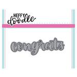 Heffy Doodle - Heffy Cuts - Dies - Congrats