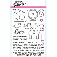 Heffy Doodle - Clear Photopolymer Stamps - Hello Squeakheart
