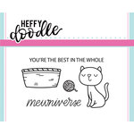 Heffy Doodle - Clear Acrylic Stamps - Mewniverse