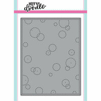 Heffy Doodle - Cutting Dies - Stitched Bubble Background