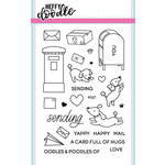Heffy Doodle - Clear Acrylic Stamps - Yappy Happy Mail
