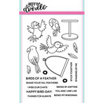 Heffy Doodle - Clear Acrylic Stamps - Wingman