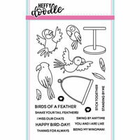 Heffy Doodle - Clear Photopolymer Stamps - Wingman