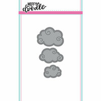 Heffy Doodle - Cutting Dies - Swirly Clouds
