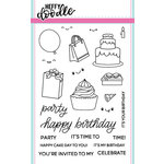 Heffy Doodle - Clear Acrylic Stamps - Party Palooza