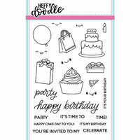 Heffy Doodle - Clear Photopolymer Stamps - Party Palooza