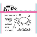 Heffy Doodle - Clear Acrylic Stamps - Shellabrate Exclusive
