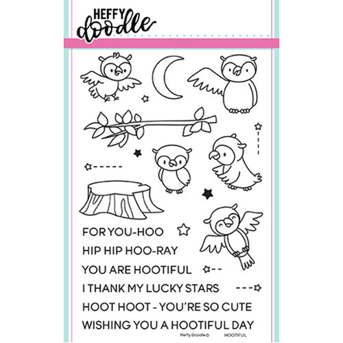 Heffy Doodle  - Hootiful stamp set