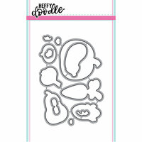 Heffy Doodle - Cutting Dies - Veggie Patch