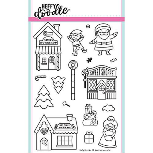 Heffy Doodle - Santa's Village Stamp set