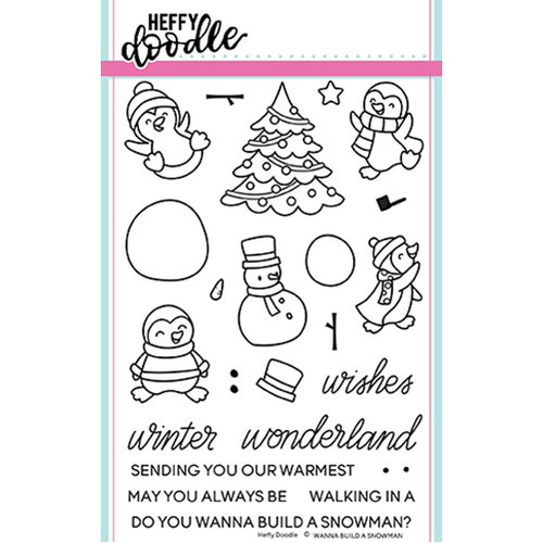 Heffy Doodle - Wanna Build a Snowman Stamp set