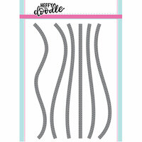 Heffy Doodle - Cutting Dies - Stitched Slopey Joes Border