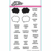 Heffy Doodle - Clear Photopolymer Stamps - Whatcha Saying Now