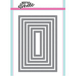 Heffy Doodle - Cutting Dies - Metric Stitched Rectangles