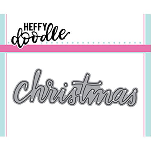 Heffy Doodle - Heffy Cuts - Dies - Christmas