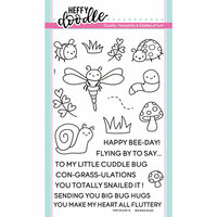 Heffy Doodle - Clear Photopolymer Stamps - Big Bug Hugs