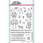 Heffy Doodle - Clear Acrylic Stamps - Gnome Matter What