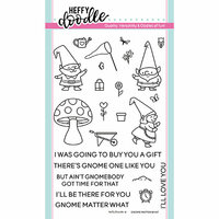 Heffy Doodle - Clear Photopolymer Stamps - Gnome Matter What