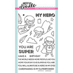 Heffy Doodle - Clear Acrylic Stamps - Superdudes