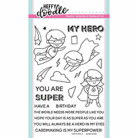 Heffy Doodle - Clear Photopolymer Stamps - Superdudes