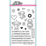Heffy Doodle - Clear Acrylic Stamps - Bots of Love