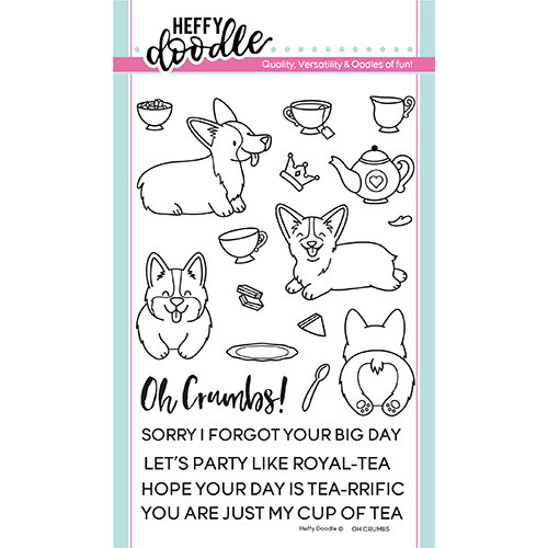 Heffy Doodle - Clear Photopolymer Stamps - Oh Crumbs