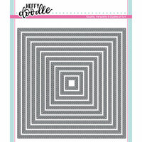 Heffy Doodle - Cutting Dies - Stitched Squares