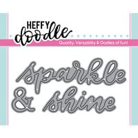 Heffy Doodle - Heffy Cuts - Dies - Sparkle and Shine
