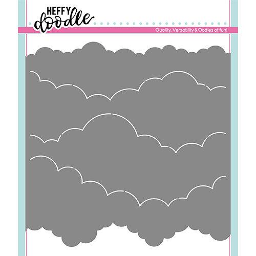 Heffy Doodle Cloudy Skies Stencil
