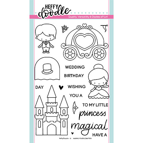 Heffy Doodle - Clear Photopolymer Stamps - Happily Ever Crafter