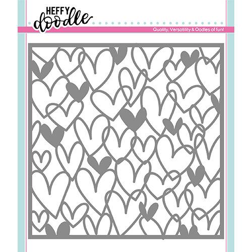 Heffy Doodle - Stencil - Scribble On My Heart