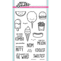 Heffy Doodle - Clear Photopolymer Stamps - Treat Yo'Self